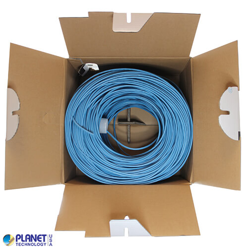 CP-C5E-SDP-BL Bulk Ethernet Cable Blue Open Box