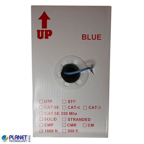 CP-C5E-SDP-BL Bulk Ethernet Cable Blue Box