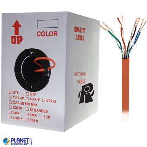 CP-C5E-ST-1K-OR Bulk Ethernet Cable Orange