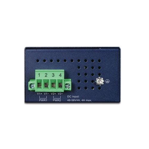 IPOE-270-12V Industrial PoE Injector Top
