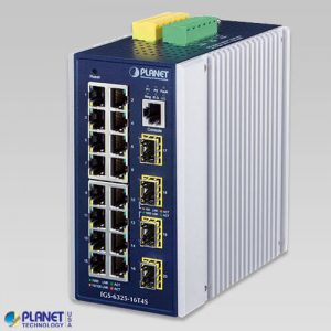 IGS-6325-16T4S Industrial L3 16-Port 10/100/1000T + 4-Port 100/1000X SFP Managed Ethernet Switch