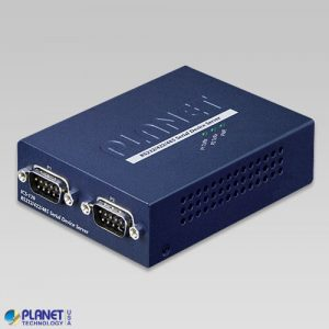 ICS-120 2-Port RS232/RS422/RS485 Serial Device Server