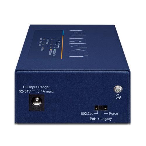 UPOE-400 PoE Injector Hub Back