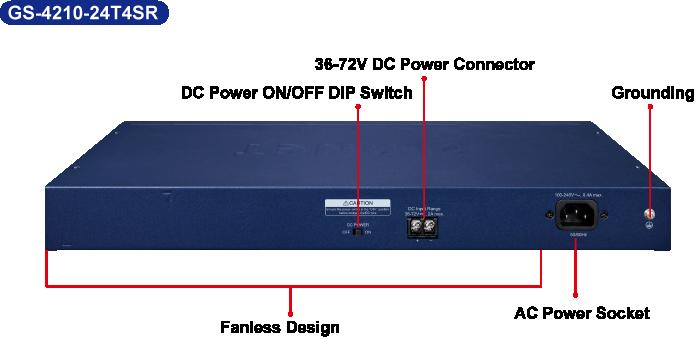 GS-4210-24T4SR Redundant Switch