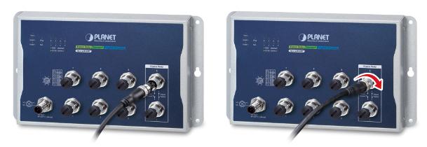 WGS-5225-8MT Connectors