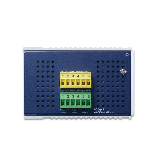 IGS-5225-8P2T4S Industrial PoE Switch Top