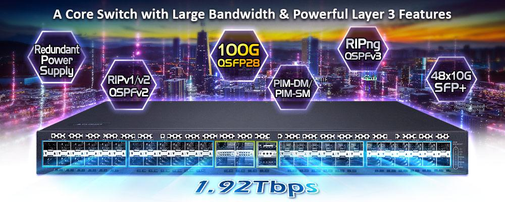 XGS-6350-48X2Q4C Features